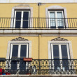 Detail of an old building, Lisbon, Portugal — Stock Photo #33832051