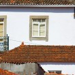 Roof tiles and windows — Foto Stock