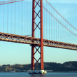 Stock Photo: 25th April Bridge, Lisbon, Portugal