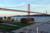25th April Bridge, Lisbon, Portugal — Stock Photo