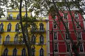 деталь из старого здания, лиссабон, португалия — Стоковое фото