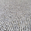 Portuguese pavement, Calcada portuguesa — Stock Photo