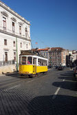 The tram 28, Lisbon, Portugal — Stock Photo
