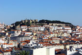View over Lisbon, Portugal — Stock Photo