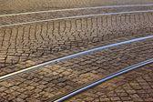 Tram Rail, Lisbon, Portugal — Stock Photo