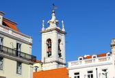 Kościół chiado, Lizbona, Portugalia — Zdjęcie stockowe