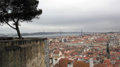 View over Lisbon, the capital city of Portugal — Stock Photo