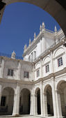 Monastery of Saint Vincent cloister, Lisbon, Portugal — Stock Photo