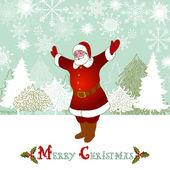 рождество и новый год ретро-фон, шаблон xmas подарок — Стоковое фото