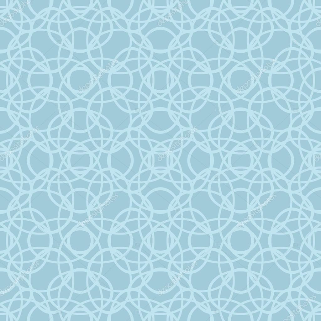 Geometrische monochromen hintergrund vektor nahtlose for Tapete ornamente blau