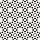 Abstract geometric background, modern seamless pattern, 1950s, 1960s, 1970s fashion style, template, layout for design — Stock Vector