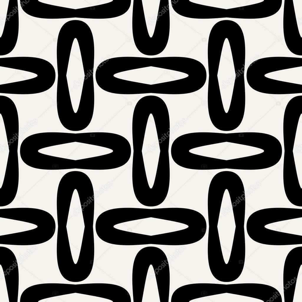 Abstract geometrische achtergrond moderne naadloze patroon retro stijl creatieve sieraad - Behang van de jaren ...