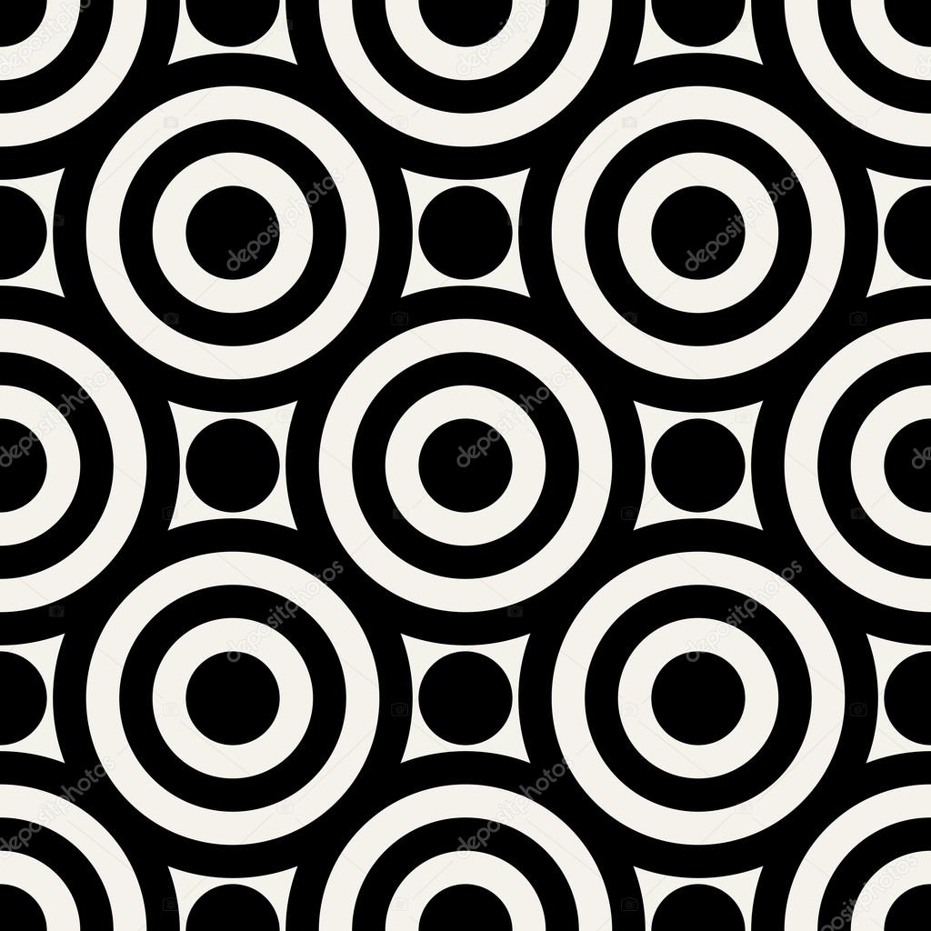 Abstract geometric background, modern seamless pattern, 1950s, 1960s ...
