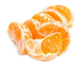 Slices peeled Orange — Stock Photo