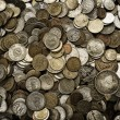 Coins on background — Stock Photo #15683881