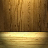 Trä rum bakgrund — Stockfoto