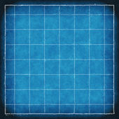 Blueprint paper background with grid — Stock Photo