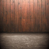 Dark Grunge Room. Digital background for studio photographers. — Stock Photo