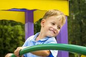 Sevimli küçük çocuk portresi — Stok fotoğraf