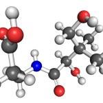 ビタミン b5 分子 — ストック写真