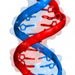 DNA molecule — Stock Photo