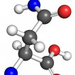 Asparagine molecule — Stock Photo #13773373