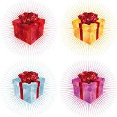 礼品盒 — 图库矢量图片