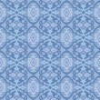 Seamless blue wallpaper pattern — Stock Vector