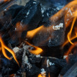 Burning coals — Stock Photo #37171473