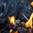 Burning coals — Stock Photo #37171499