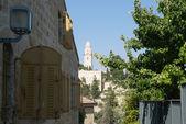 Dormition Abbey, Mount Zion, Jerusalem, Israel — Stock Photo