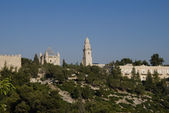 Dormition Abbey, Mount Zion, Jerusalem, Israel — Stock Photo