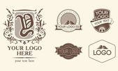Emblems & logos — Stock Vector