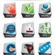 Royalty-Free Stock Vector Image: Icon set