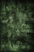 Dark Green Grunge Background — Stock Photo
