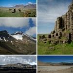 Postcard Iceland Nature — Stock Photo