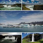 Iceland Postcard — Stock Photo