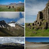 明信片冰岛性质 — 图库照片