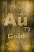 Gold (Aurum) — Stock Photo