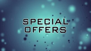 Special Offers - up to 70% — Stock Video