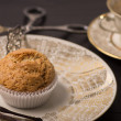 Vegan Muffin on antique Plate. — Stock Photo #22264579