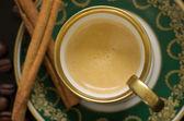 Mokka in old oriental Cup — Stock Photo