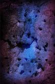Grungy Dark Background Blue and Purple — Stock Photo