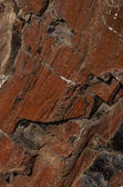 Rock med ekologisk brun konsistens — Stockfoto