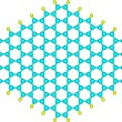 Stock Photo: Graphene Nanoribbon