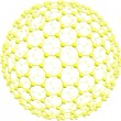 Stock Photo: Giant fullerene C500