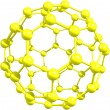 Stock Photo: Fullerene molecule