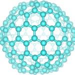 Giant fullerene molecule C240 — Stock Photo