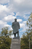 The monument of the famous ukrainian writer Taras Shevchenko in Odessa — Stock Photo