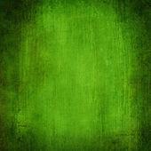 Grunge green textural backgrounds set — Stock Photo